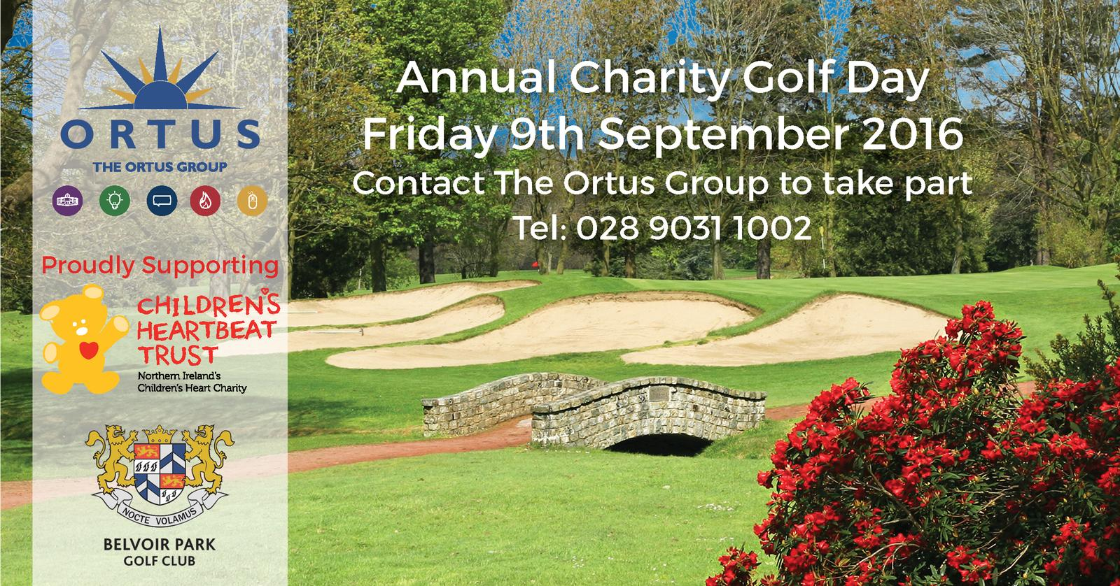 annual charity golf - friday 9th september
